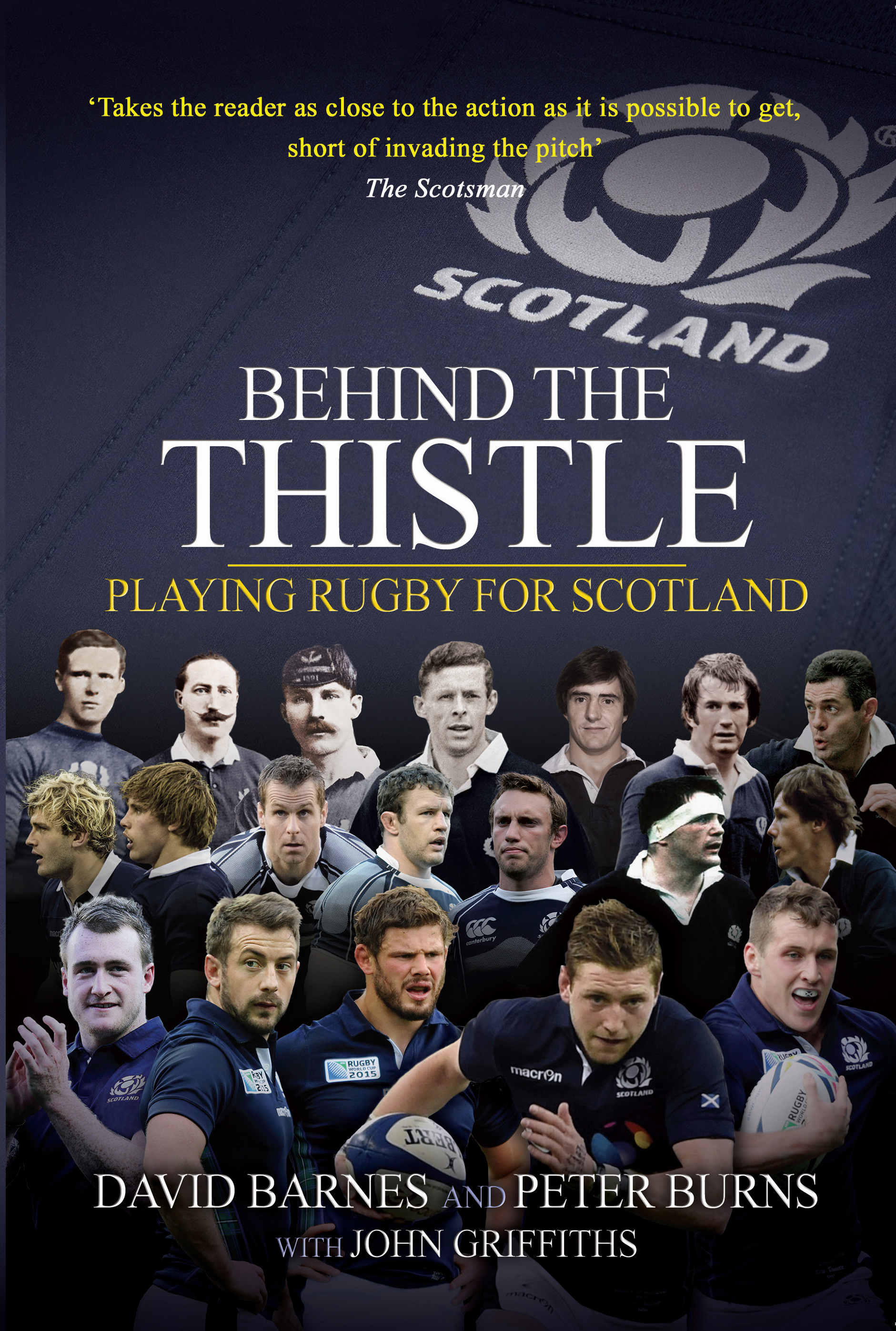 Behind The Thistle Cover
